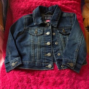 Kids children's place jean jacket
